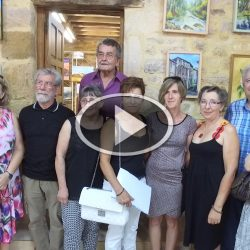 Exposition d'Art plastique à Villefranche-du-Périgord en Août 2016
